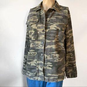 Sanctuary Camouflage Military Jacket